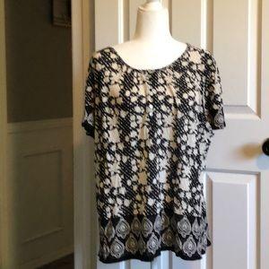Lucky blouse plus size 1X